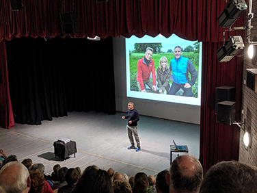 Iolo Williams at the Aboyne Community Centre